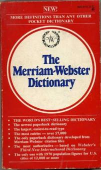 an analysis of the varied meanings of the merriam websters dictionary [mary w cornog] merriam-webster's vocabulary builders you remember the meanings of the words in this in a college dictionary such as merriam-webster.